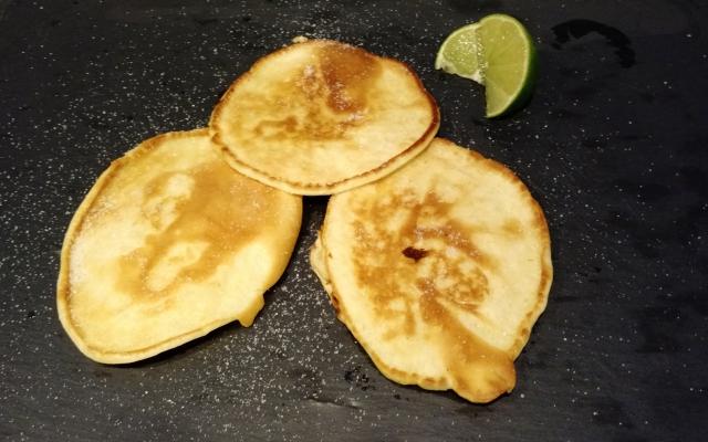 Sugar Lime Pancakes